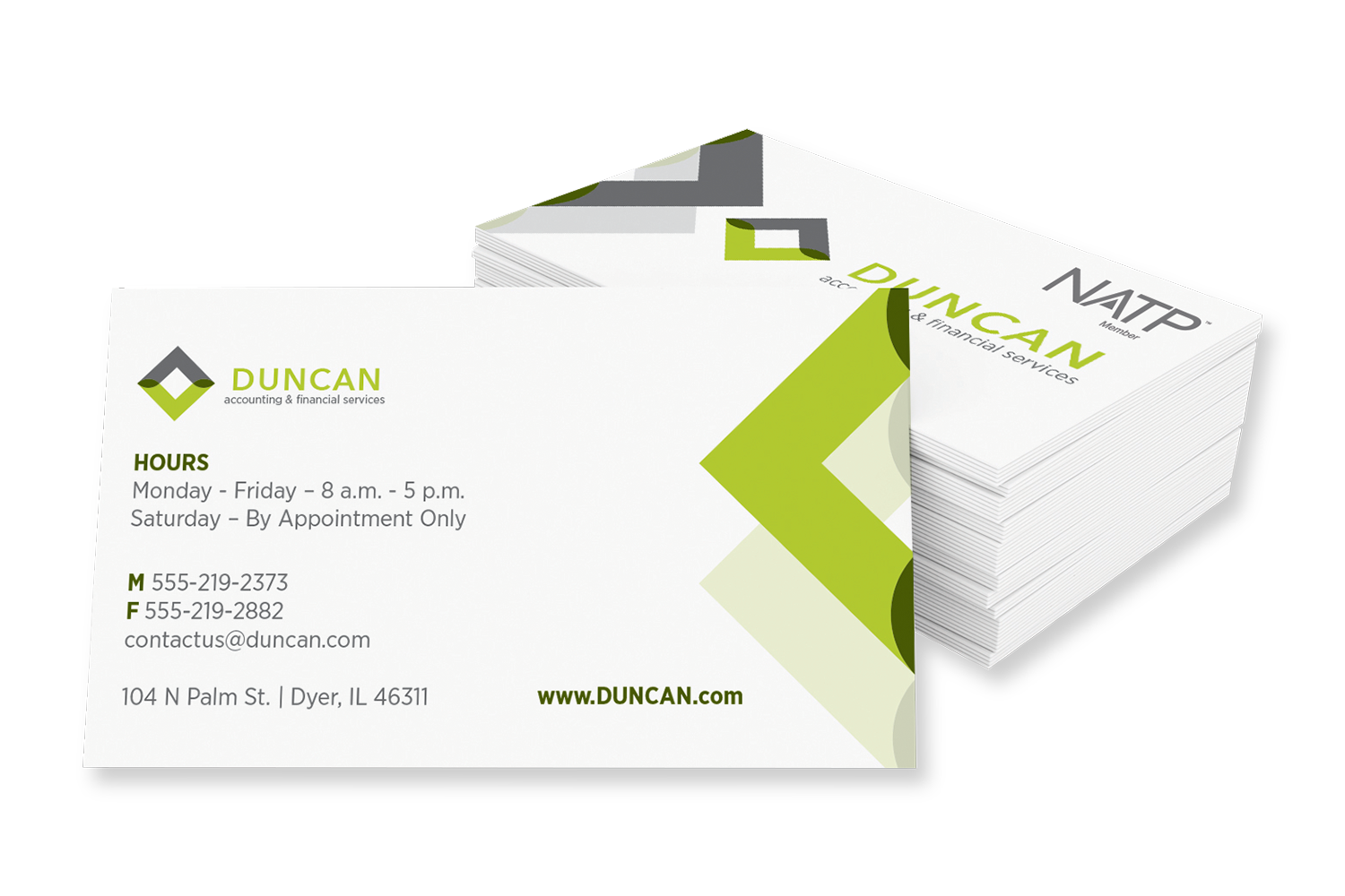Business Cards – 2-sided - #730